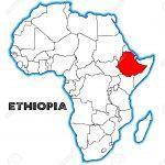 35775573-ethiopië-schets-aangebracht-in-een-kaart-van-afrika-op-een-witte-achtergrond